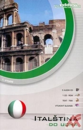 Italština do ucha - 5 x CD
