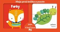 Moja prvá knižka a puzzle - Farby