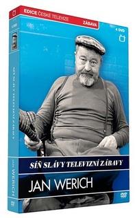 Síň slávy televizní zábavy. Jan Werich - 4 DVD