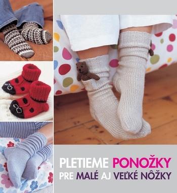 Pletieme ponožky pre malé aj veľké nôžky