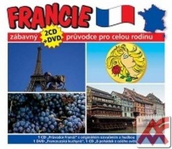 Francie. Zábavný průvodce pro celou rodinu - 2 CD (audiokniha) + DVD