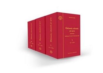 Občiansky zákonník pre prax - 3 zväzky
