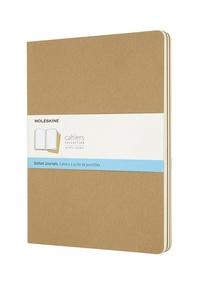 Sešity Moleskine 3 ks tečkované karton XL