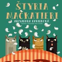 Štyria mačkatieri - CD (audiokniha)