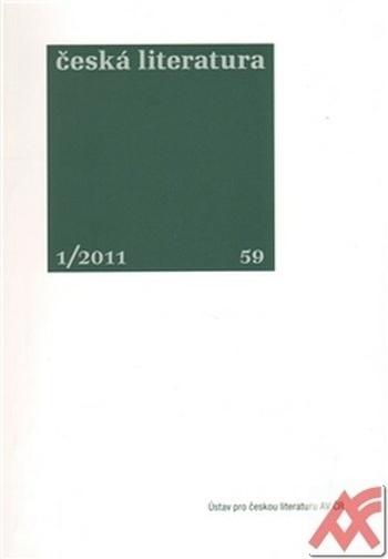 Česká literatura 1/2011