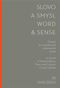 Slovo a smysl 36 / Word & Sense 36