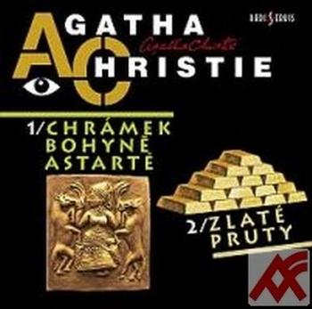 Chrámek bohyně Astarté / Zlaté pruty - CD (audiokniha)