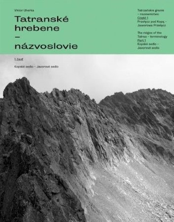 Tatranské hrebene. Názvoslovie