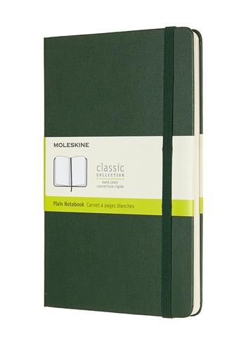 Zápisník Moleskine tvrdý čistý zelený L