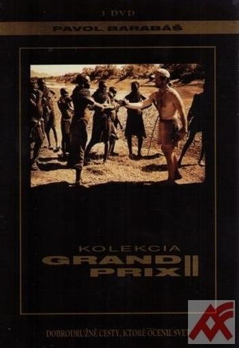 Kolekcia Grand Prix II. Dobrodružné cesty, ktoré ocenil svet - 3 DVD
