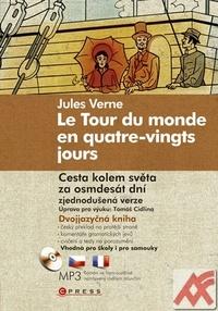 Cesta kolem světa za osmdesát dní / Le Tour du monde en... + MP3 CD