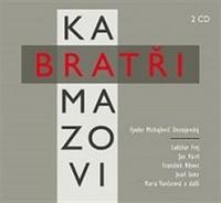 Bratři Karamazovi - 2 CD (audiokniha)