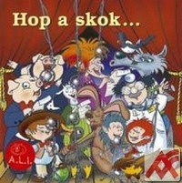 Hop a skok. Pesničky z rozprávok - CD (audiokniha)