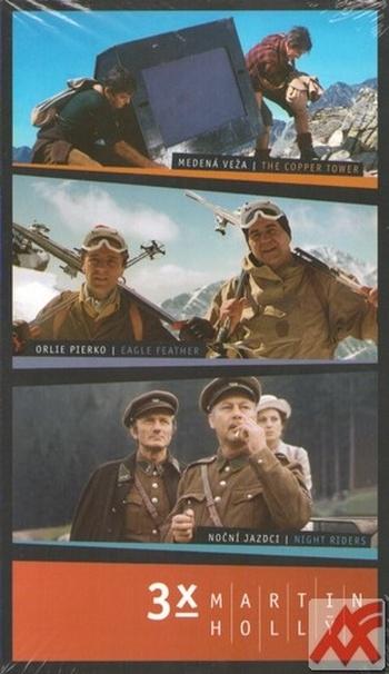3x Martin Hollý - 3 DVD