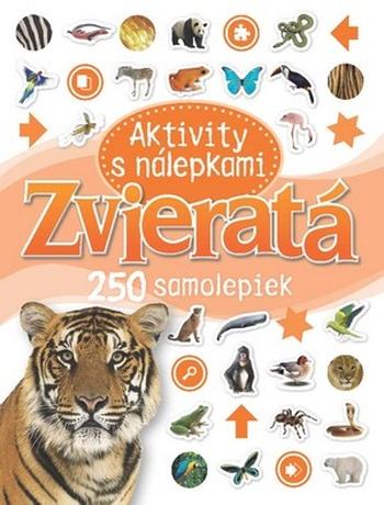 Zvieratá - Aktivity s nálepkami