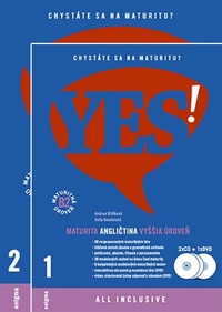 Angličtina YES! - Nová maturita. Vyššia úroveň (B2) + 2CD + DVD