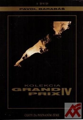 Kolekcia Grand Prix IV. Cesty za poznaním Zeme - 3 DVD