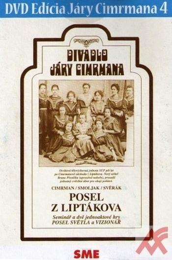 Divadlo Járy Cimrmana 4 - Posel z Liptákova - DVD