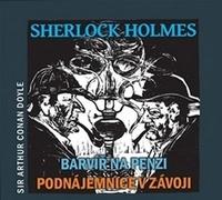 Sherlock Holmes. Barvíř na penzi / Podnájemnice v závoji (audiokniha) - CD