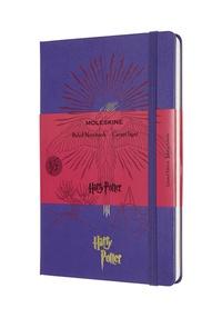 Harry Potter zápisník Moleskine linkovaný fialový L