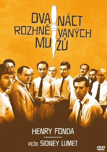 Dvanáct rozhněvaných mužů - DVD