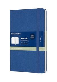 Two-go zápisník Moleskine modrý M