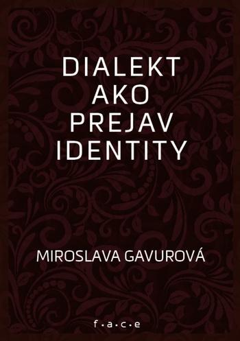 Dialekt ako prejav identity