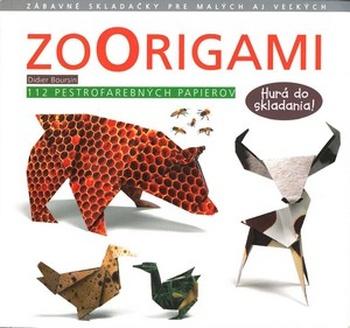 Zoorigami. 112 pestrofarebných papierov