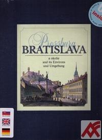 Bratislava a okolie / Bratislava and its Environs / Pressburg und Umgebung + CD