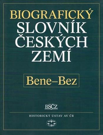 Biografický slovník českých zemí 4. (Bene-Bez)