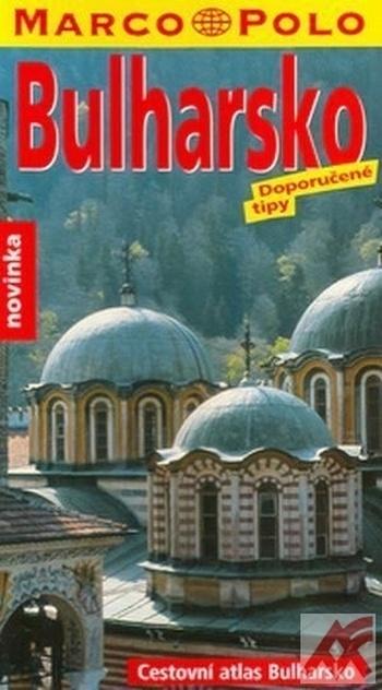 Bulharsko - Cestovní atlas