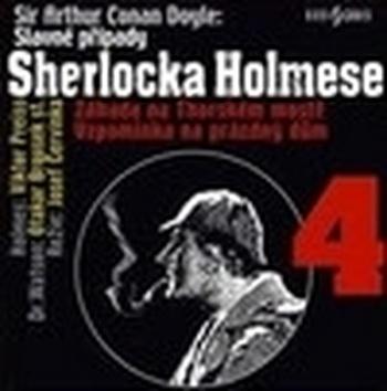 Slavné případy Sherlocka Holmese 4 - CD (audiokniha)