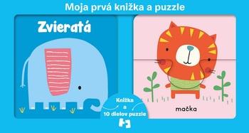 Moja prvá knižka a puzzle - Zvieratá