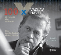 100 x Václav Havel - CD MP3 (audiokniha)