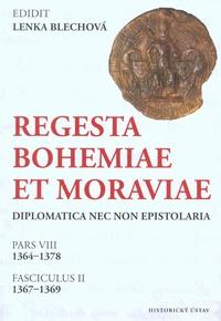 Regesta Bohemiae et Moraviae diplomatica nec non epistolaria