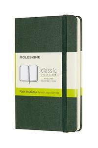 Zápisník Moleskine tvrdý čistý zelený S