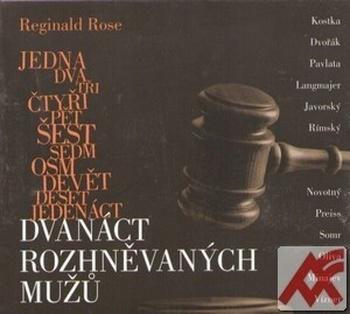 Dvanáct rozhněvaných mužů - 2 CD (audiokniha)