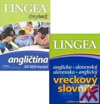 Komplet - Angličtina 40 000 hesiel (DVD) + Ang.-slov. a slov.-ang. vreckový slov