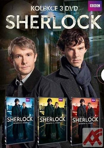 Sherlock - 1.séria - 3 DVD (komplet)