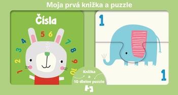 Moja prvá knižka a puzzle - Čísla