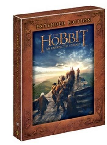 Hobit: Neočekávaná cesta - 5 DVD (predĺžená verzia)