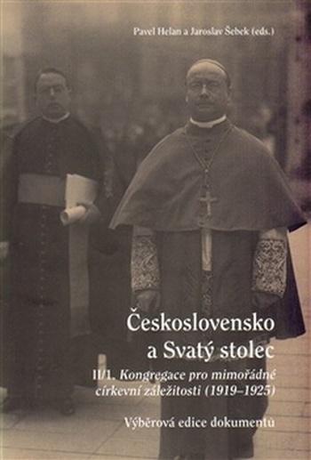 Československo a Svatý stolec II/1