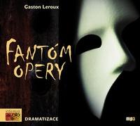 Fantóm opery - MP3 CD (audiokniha)