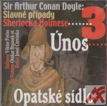 Slavné případy Sherlocka Holmese 3 - CD (audiokniha)