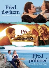 Před úsvitem, Před soumrakem, Před půlnocí - kolekcia 3 DVD