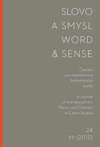 Slovo a smysl 24 / Word & Sense 24