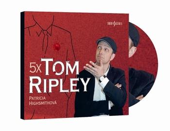 5x Tom Ripley - CD MP3 (audiokniha)