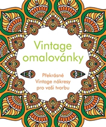 Vintage omalovánky