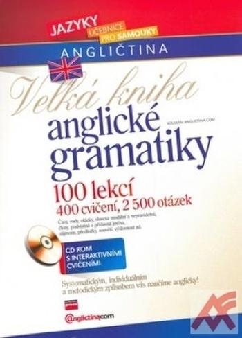 Velká kniha anglické gramatiky + audio CD