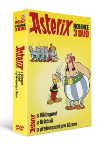 Asterix kolekce - 3 DVD
